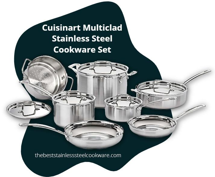 cuisinart multiclad stainless set